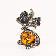 Сувенир фигурка рыбы,знак зодиака.статуэтка рыбы. Латунь, фото