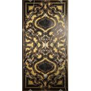 Керамическая плитка Akros Sublime XL T_Nero Marquinia Gold фото