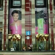 Размещение рекламы на конструкциях в самом популярном торгово-развлекательном центре Алматы — Меге фото