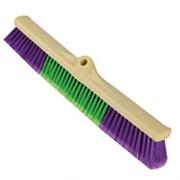 Щетки с мягкими и жесткими щетинками, металлическая ручка Brush Hard & Soft 50 cm фото