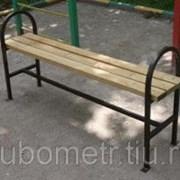 Скамейки парковые деревянные фото