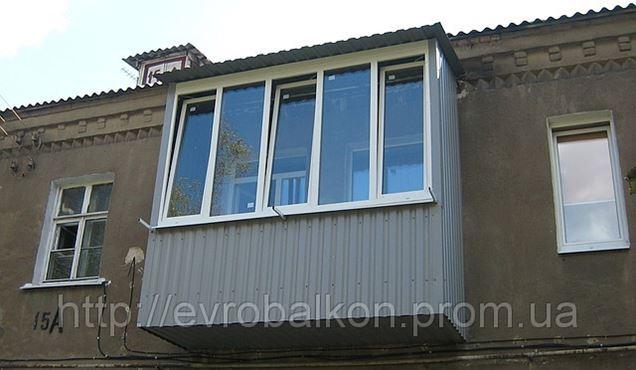 Балконы лоджии под ключ в харькове. услуги на prom.ua.