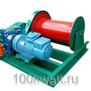 Лебедка тяговая электрическая Torin JM 1 т.,120 м. (без каната) фото