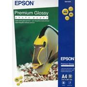 Бумага epson Premium Glossy Photo Paper A4, 50 sheets фото