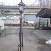 Светильники кованые садовые фото