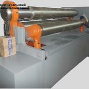 Трехвалковая листогибочная машина (вальцы) ИБ2222В фото