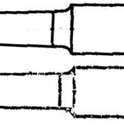 РЕЗЦЫ РАСТОЧНЫЕ ДЛЯ ОБРАБОТКИ СКВОЗНЫХ ОТВЕРСТИЙ (ТИП 1) ИЗ БЫСТРОРЕЖУЩЕЙ СТАЛИ ГОСТ 18872-73 фото