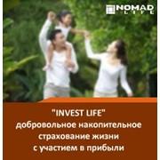 """""""Invest Life"""" - программа добровольного накопительного страхования жизни с участием в прибыли фото"""