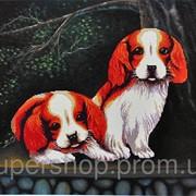 Набор для вышивки картины Озорники 77х60см 373-37010694 фото