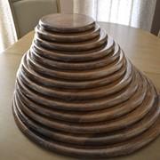 Деревянная кухонная разделочная досточка фото