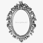 Обрамления зеркал из полиуретана Harmony W101 фото