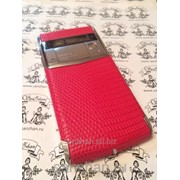 Телефон Vertu Signature Touch Pink Lizard exclusive 86490 фото