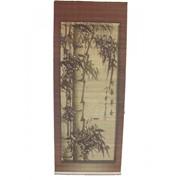 Панно из бамбука с рисунком в асс. В инд. Упак. (35*90) (уп.80) 8616 53309(ver.3) фото