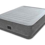 Надувная кровать Comfort-Plush, 99х191х33см, встроенный насос (Intex) фото