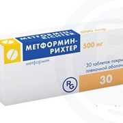 Метформин-Рихтер фото