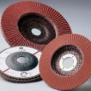Тарельчатые лепестковые круги фото