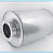 Шумоглушитель трубчатый круглый ГТК фото