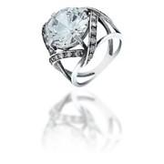 Кольца из серебра 100009 АЛЬЯНС фото