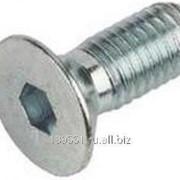 Винт DIN 7991 потайная головка, внутренний шестигранник M5x30, А2 фото