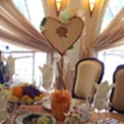 Украшения свадебных столов гостей фото