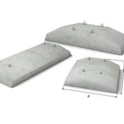 Фундаментные подушки (плиты ленточных фундаментов) фото