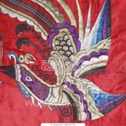 Вышивка машинная Полотенец тканей Крыжмы фото