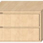 Модуль с двумя выдвижными ящиками фото