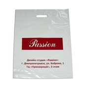 Пакет с логотипом полиэтиленовый бумажный фото
