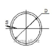 Труба прессованная круглая шифр профиля: 01/0006 D, мм 50 S, мм 5 фото