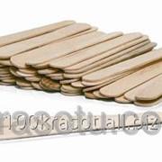 Шпатель деревянный для нанесения воска, 50шт 001.01.02 фото