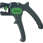 """Автоматические клещи для снятия изоляции """"Super Plus"""" сеч. от 0,2-6 мм2 HAUPA фото"""