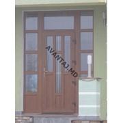 Двери из красного дерева, арт. 20 фото