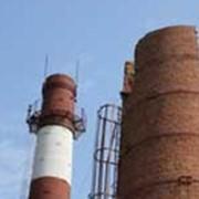 Обследование и ремонт дымовых труб фото