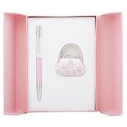 Набор подарочный Langres Sense: ручка шариковая + крючек для сумки, розовый LS.122031-10 фото