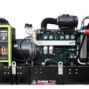Дизельный генератор Pramac 755DO (551 кВт, Италия)