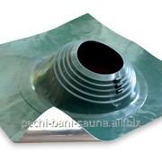 Уплотнитель кровельных проходов из силикона Master Flash В 203-280 угловой, зеленый фото