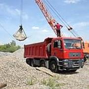 Щебень гравийный 40 70 с перевозкой фото