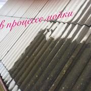 Мойка крыш фасадов фото