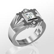 Кольца с бриллиантами M27895-1 фото