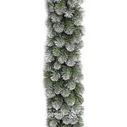 "Гирлянда хвойная ""Колорадо"" заснеженная, 180*35 см, ПВХ (Triumph Tree) фото"