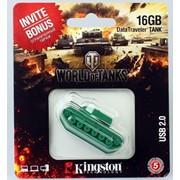 16Gb Kingston USB-флеш накопитель, USB 2.0, Зелёный, DT-TNK/16GB фото