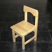 Детский стульчик деревянный размер 30 фото