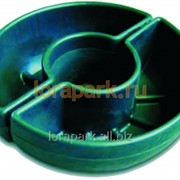 Термо-чаша для столба, вазон для цветов уличный пластиковый lora-park 840 s фото