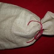 Подарочные джутовые мешочки фото