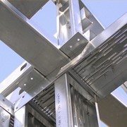 Строение каркасное из металлоконструкций