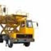 Самоходный погрузчик контейнеровоз АПК-КБ шасси АМУР-5312-10 фото