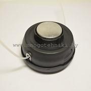 Головка косильная бензотриммера метал. кнопка на шарикоподшипнике фото