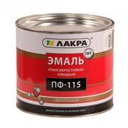Эмаль Лакра ПФ-115 2.8кг Красный фото