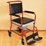 Прокат Кресло-каталки с санитарным устройством FS 692-45 + фото