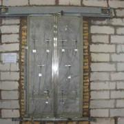 Огневые испытания дверей шахт лифтов фото